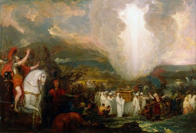 Benjamin_West_-_Joshua_passing_the_River_Jordan_with_the_Ark_of_the_Covenant_re